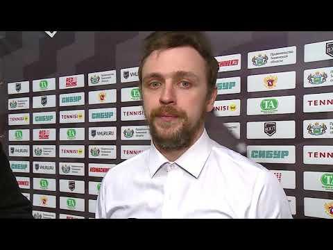 Тренер ХК «Рубин» Кирилл Брагин - после заключительного матча сезона