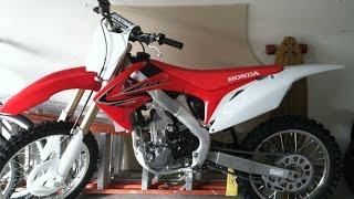 11. 2013 Honda CRF 250R Walkaround