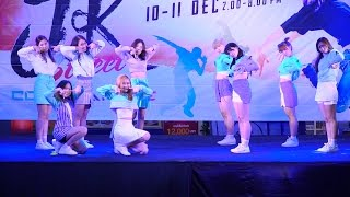 161210 Last KISS cover TWICE - JELLY JELLY + Cheer Up + TT @ J&K Cover Dance 2016