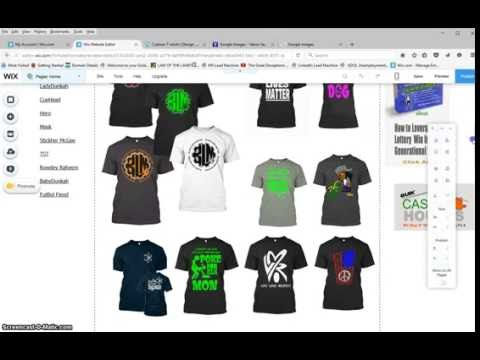 How To Leverage The TeeSpring Format with A Linked WebSite –PT 1