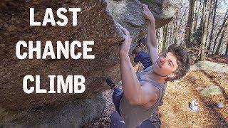 Chamonix Bouldering: 7b's And Corona SHUTDOWN by Matt Groom