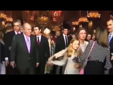 Ισπανία: Βασιλικός καβγάς Σοφίας – Λετίθια μπροστά στις κάμερες