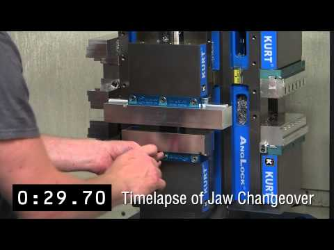 Kurt Workholding: Jaw Changes in 1 Minute