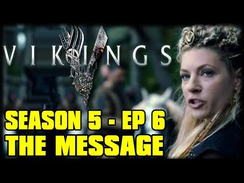 """Vikings Season 5 Episode 6 """"The Message"""" Review Commentary   – LAGERTHA IS BETRAYED"""