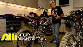 Video Brian Deegan FMX Bike Check - Alli Setup MP3, 3GP, MP4, WEBM, AVI, FLV Agustus 2017