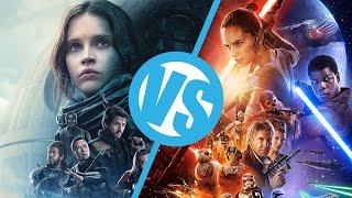 Rogue One VS Star Wars: The Force Awakens : Movie Feuds ep177