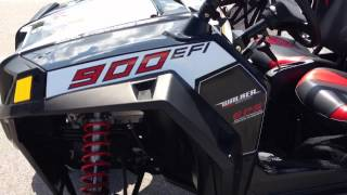 8. 2013 Polaris Ranger RZR XP 4 900 EPS LE In Black, White and Red At Tommys MotorSports