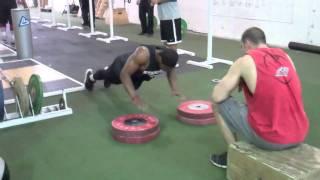 NFL選手の瞬発力系トレーニング