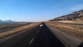 Parachute (CO) United States  City pictures : Interstate70 West in Colorado passing Parachute and Battlement Mesa