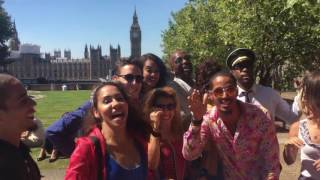 "The cast of ""Vamos Cuba"" recommending the best Cuban Salsa Classes in London!"