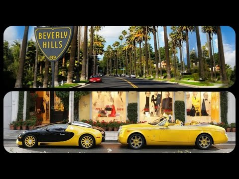 Beverly Hills,Hollywood Boulevard & Rodeo Drive Guided Tour
