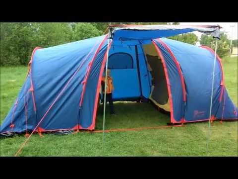 Відеоогляд кемпінгової палатки Sol Castle 4