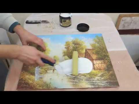 Масляная краска сделать своими руками 51