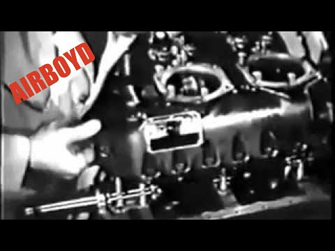 Reassembling The Engine – Aircraft Power Plant Maintenance (1945)