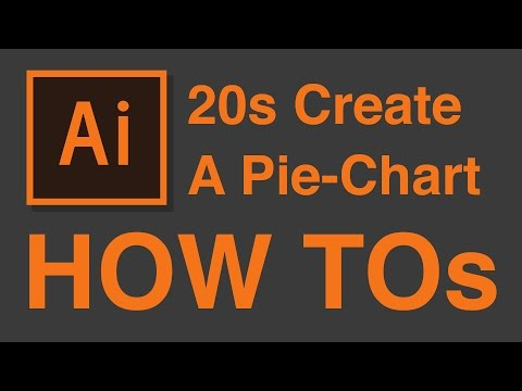 How to create simple Pie-Chart in 20 Seconds – Illustrator CC Tutorial