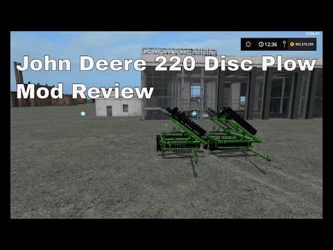 John Deere 220 Disk (plow) v1.0