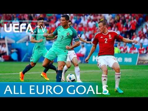 All 108 UEFA EURO 2016 Goals: Watch Every One