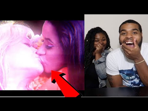 Video THEY KISSED 😳😘 | Rita Ora - Girls ft. Cardi B, Bebe Rexha & Charli XCX (Official Video) | REACTION download in MP3, 3GP, MP4, WEBM, AVI, FLV January 2017