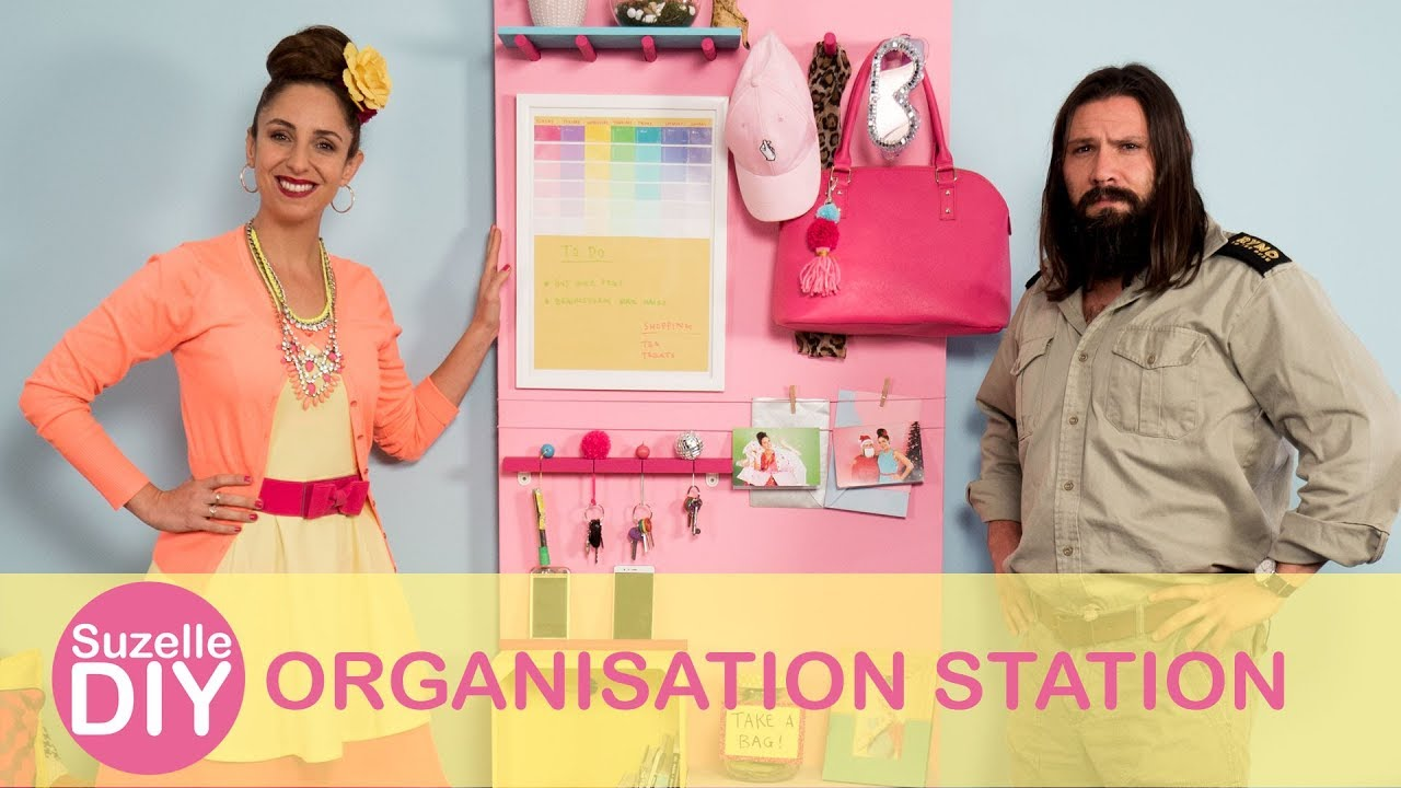 How to make an Organisation Station