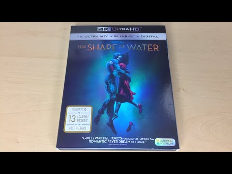 The Shape Of Water - 4K Ultra HD Blu-ray Unboxing