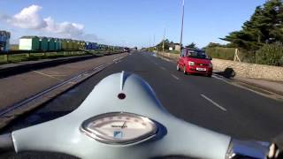 7. Vespa 150 Sportique Ride