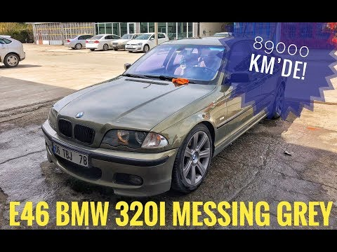 89bin Kilometrede 2001 E46 BMW 320i Individual Messing Metallic