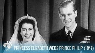 Video A Royal Wedding: Princess Elizabeth Weds Philip (1947) | British Pathé MP3, 3GP, MP4, WEBM, AVI, FLV April 2018