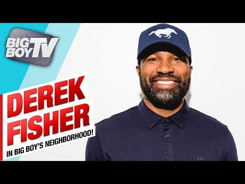 Derek Fisher on The NBA Finals & His Willingness to Work For The Lakers