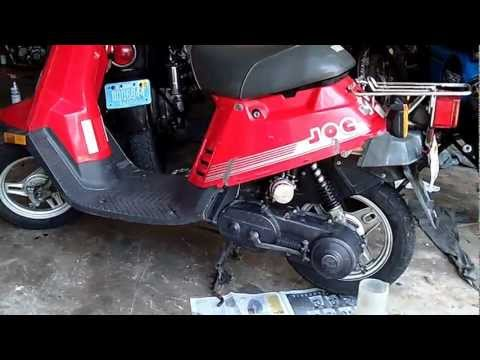 How to Change Gear Oil in Yamaha Riva Jog Scooter