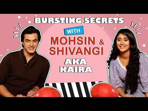 Mohsin And Shivangi Reveal Fun Secrets | Bursting Balloons | 1000 Episodes Of Kaira