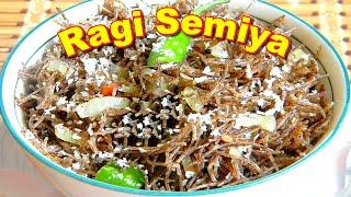Ragi Semiya Recipe in Tamil Language