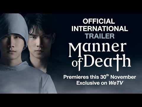 """Manner of Death   Official Trailer   Are you ready to sacrifice """"Love"""" as a cost?   亡者之谜   ENG SUB"""