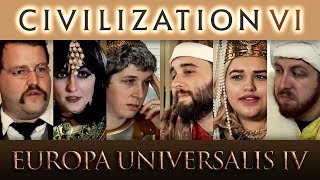 Video Civilization 6 VS Europa Universalis 4 MP3, 3GP, MP4, WEBM, AVI, FLV Maret 2018