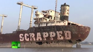 Video Scrapped: the deadly business of dismantling ships in Bangladesh MP3, 3GP, MP4, WEBM, AVI, FLV Oktober 2018