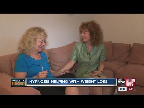 Hypnotherapist simulates weight loss surgery