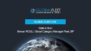 Walk-in from Ikhwan ROSLI, Global Category Manager Fleet, BP