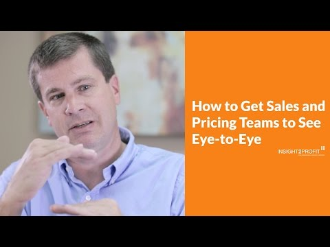 Sales & Pricing on the Same Team