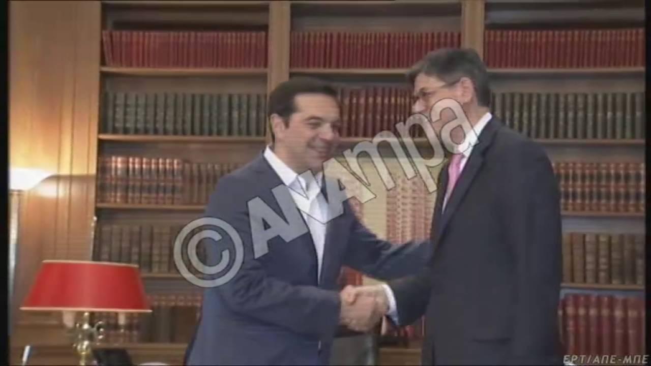 Στην αναγκαιότητα για σημαντική ελάφρυνση του ελληνικού χρέους, συμφώνησαν Τσίπρας-Λιου