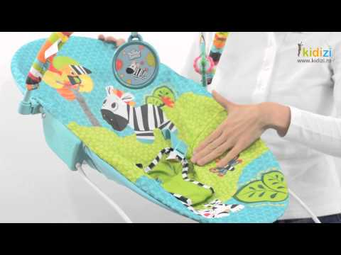 Bright Starts balansoar cu vibratii Zoo Tails