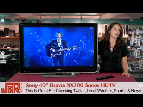 Sony Bravia NX700 HDTV Video Review