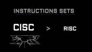 RISC VS CISC - CPU architecture