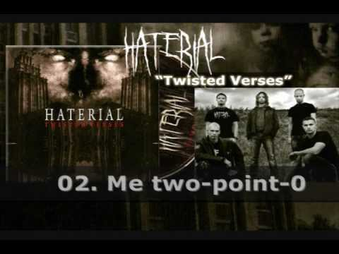 HATERIAL - Twisted Verses (2012)