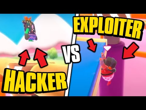 Hacker Vs Exploiter - FALL GUYS