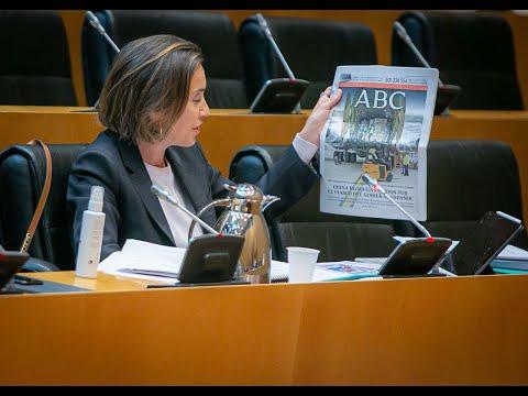 Intervención de Cuca Gamarra en la Comisión de San...