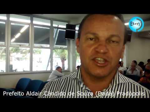 Pradópolis - Prefeito Aldair Cândido de Souza (Dadá) falou com o site A Voz das Cidades no encontro com o Ministro dos Esportes.