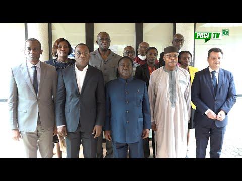 COTE D' IVOIRE: APRÈS LE SIMULACRE D'ÉLECTION, QUE DE BALLETS DIPLOMATIQUES CHEZ LE PRESIDENT BÉDIÉ