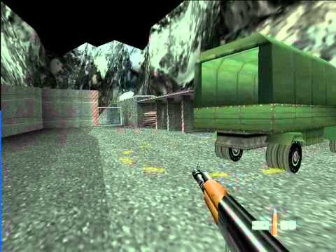 007: GoldenEye - Nintendo 64 - Mission 1 \