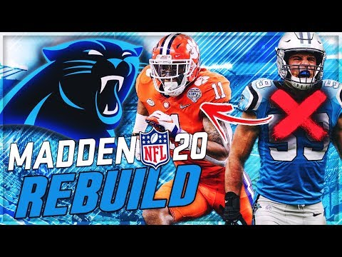 Rebuilding The Carolina Panthers -- Isaiah Simmons Replaces Luke Kuechly! | Madden 20 Franchise