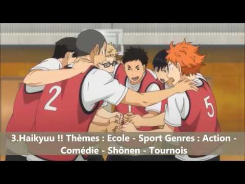 TOP 6 meilleurs Animés Sport