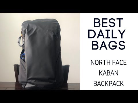 Best Daily Bags: North Face Kaban Backpack Review